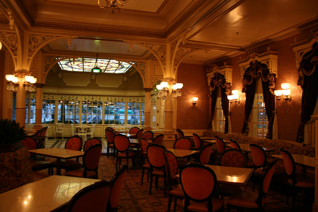 plaza gardens restaurant disneyland paris david jafra. Black Bedroom Furniture Sets. Home Design Ideas