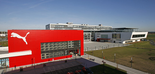 Herzogenaurach Germany  city pictures gallery : PUMAVision Headquarters in Herzogenaurach, Germany