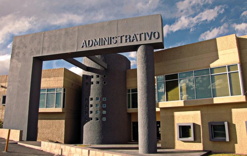 Oficinas administrativas de la uach universidad aut noma for Diseno de oficinas administrativas