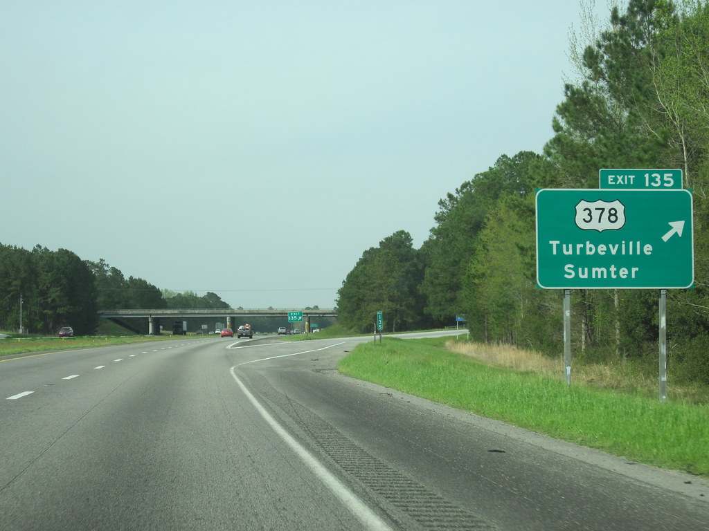 I-95 northbound at exi...I 95 Sc
