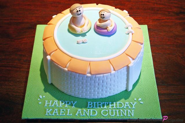 Swimming Pool Birthday Cake Flickr Photo Sharing