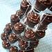 Chocolate Fudge Cupcake Tower