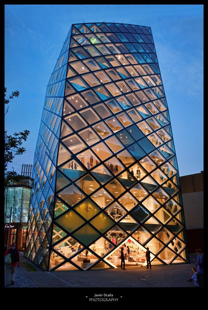 Edificio Prada En Minami Aoyama La Tienda De Prada Fue