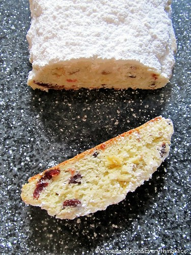 Easy Christmas Stollen | by CinnamonKitchn