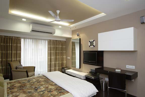 Bedroom designs home office by mahesh punjabi associates for Interior design bedroom office