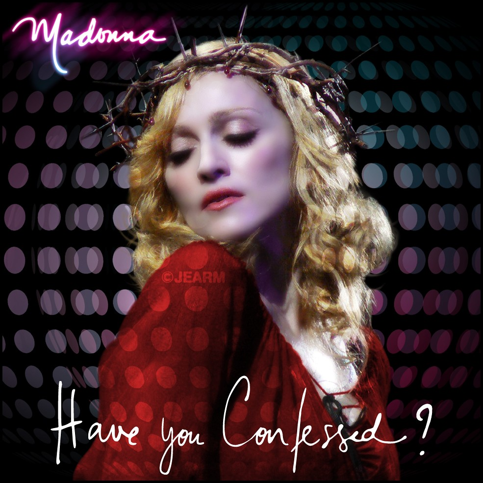 madonna confessions tour poster - photo #15