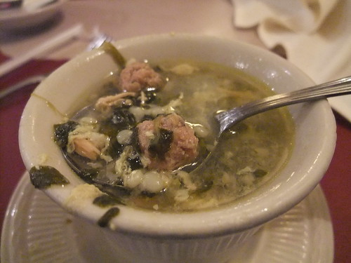 Italian Wedding Soup at TAT Ristorante | by swampkitty