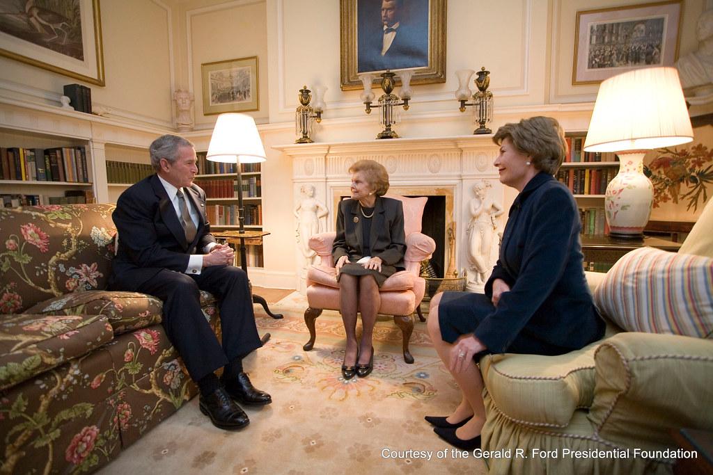 President George W Bush Mrs Betty Ford Amp First Lady Lau