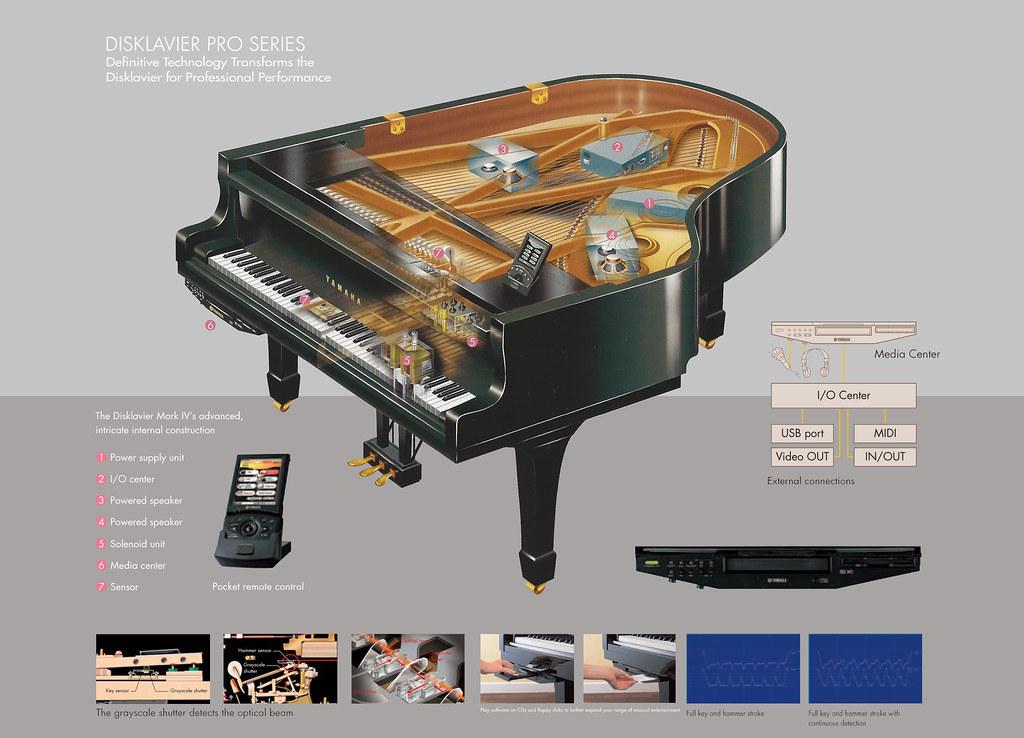 Yamaha Disklavier piano Mark IV | personal compilation ...