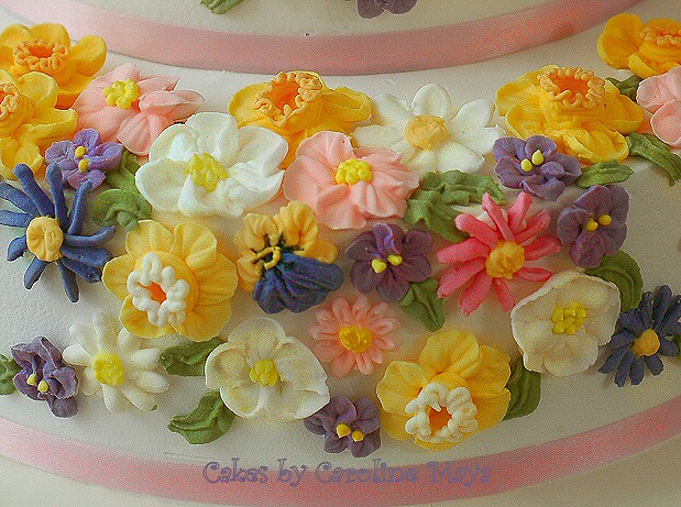 Flower Garden Birthday Cake Flower Garden Birthday Cake