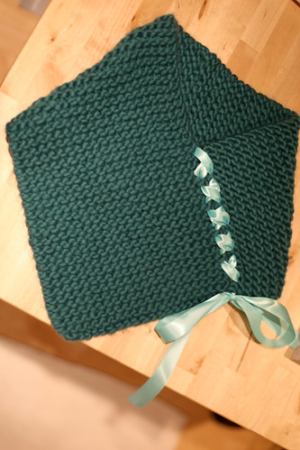 handmade knit cowl | by opacity