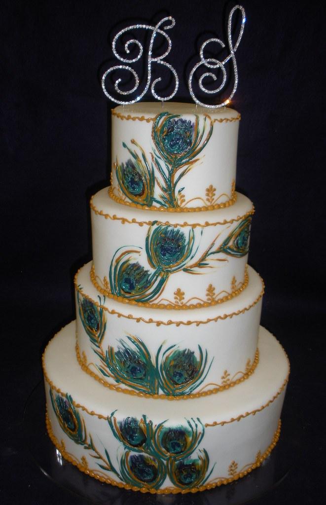 Peacock Wedding Cake Angel Contreras Flickr