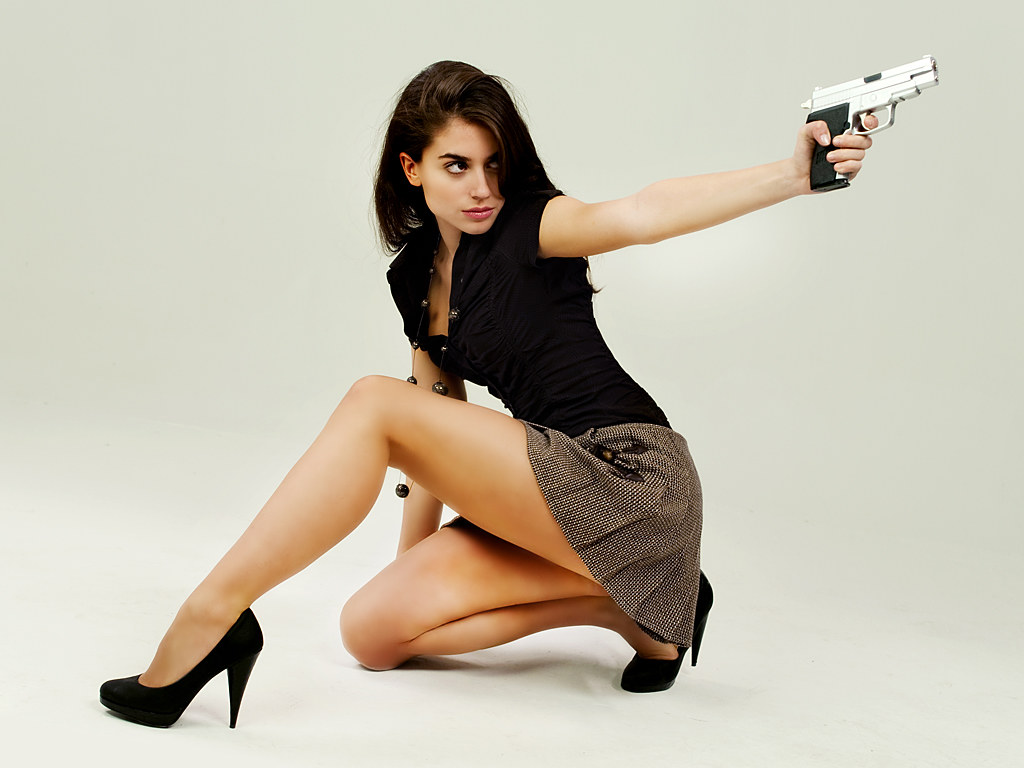 Sara Logan, the action hero | Foto promocional. Personaje
