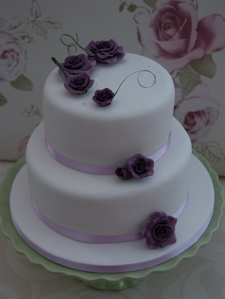 Wedding Two Tier Cakes