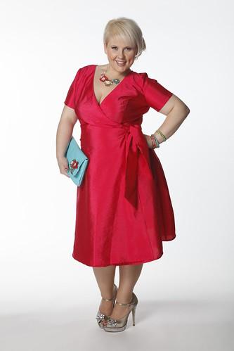 Maite Kelly In Pinlfarbenem Kleid Von Bonprix Flickr