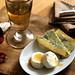white wine & cheese, and chestnut honey