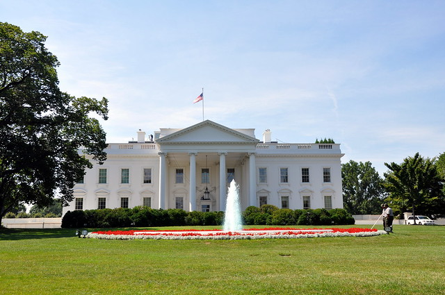 Front View of the White House | Flickr - Photo Sharing!