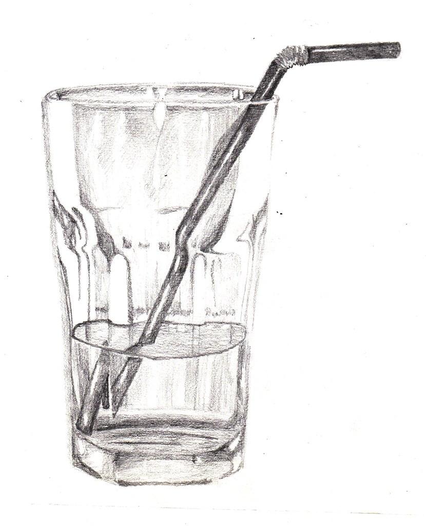 Asif's Observational Drawings: Week 1  |Pencil Sketch Simple Object