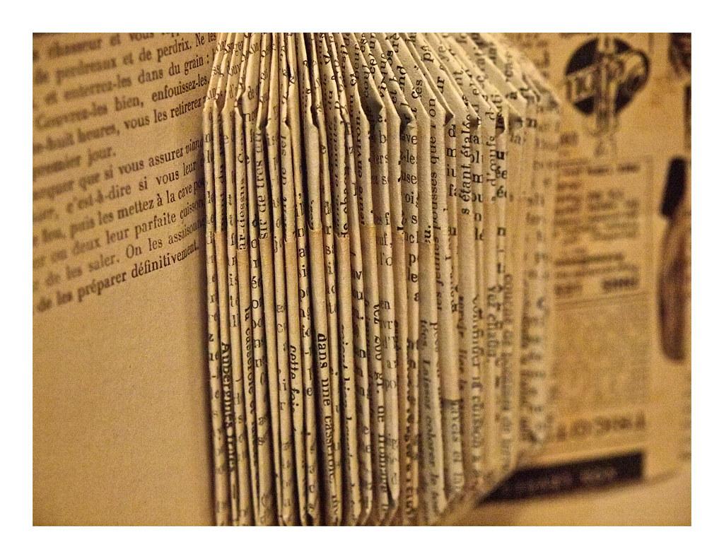 Le vieux livre de cuisine ou comment sauver du pilon un for Vieux livre de cuisine