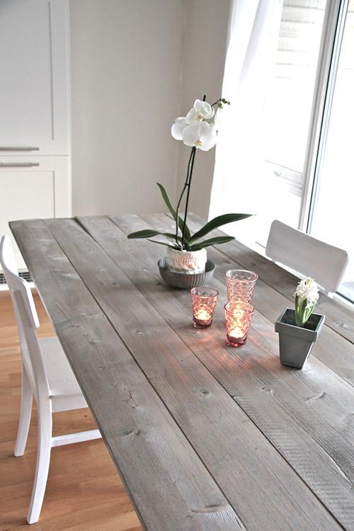 Diy Dining Table Blogged On Stylizimo Blogspot Com