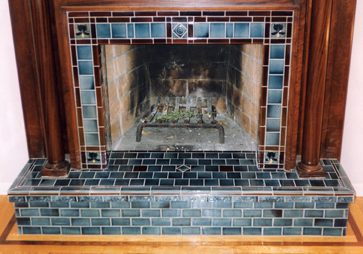 Fireplace with raised hearth | Don Shore | Flickr