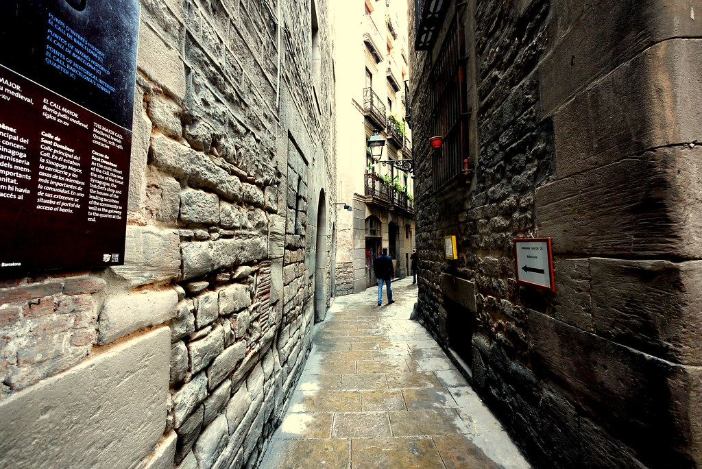 Casco viejo de barcelona el call el antiguo barrio judio - Casco antiguo de barcelona ...