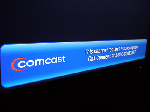 Comcast: This channel requires a subscription | by stevegarfield