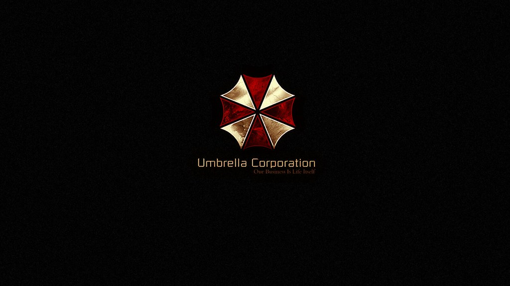 Umbrella corporation gold logo wallpaper the umbrella - Umbrella corporation wallpaper hd 1366x768 ...