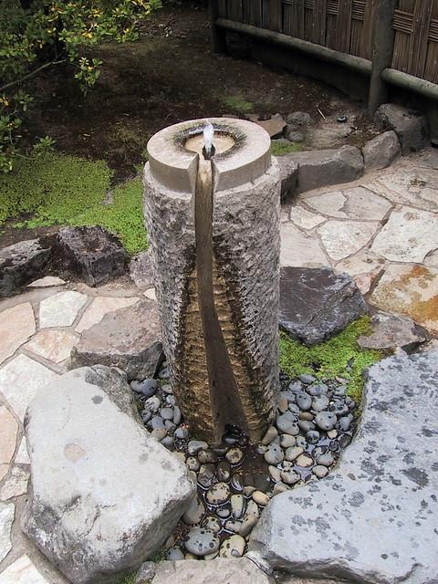 Japanese garden drinking fountain portland or flickr for Garden fountains portland oregon