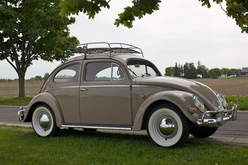 1957 Volkswagen Bug Deluxe Vw For Sale Front Vw 57 Bug