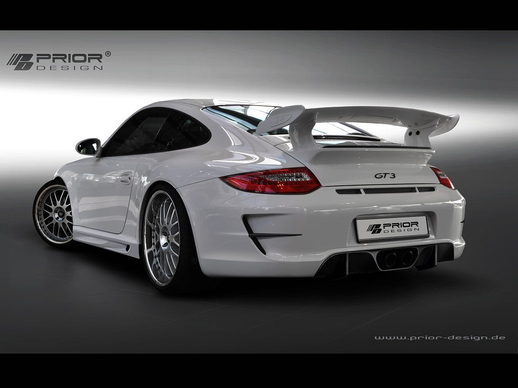 prior design porsche 997 2 911 carrera and gt3 body kit r. Black Bedroom Furniture Sets. Home Design Ideas