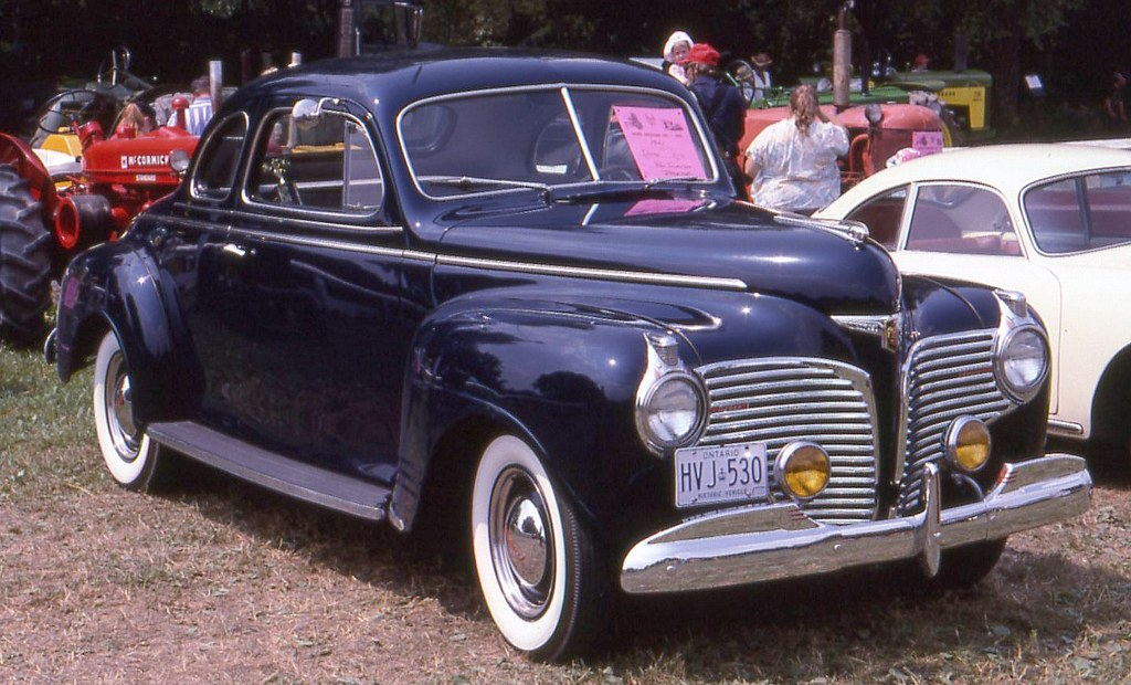 1941 Dodge D21 Deluxe coupe | Richard Spiegelman | Flickr