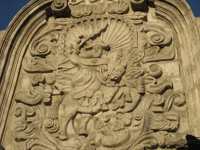 Saint stone carving arequipa peru flickr photo sharing