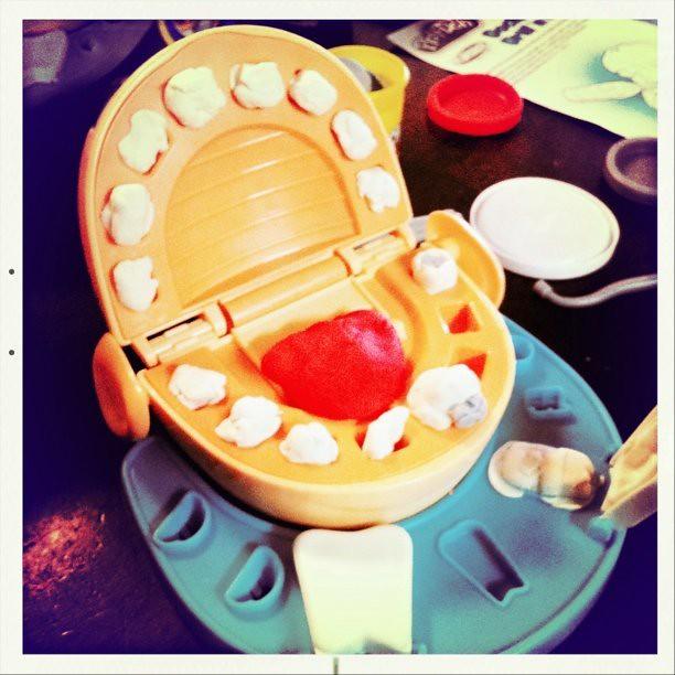 play doh dentist ally flickr. Black Bedroom Furniture Sets. Home Design Ideas