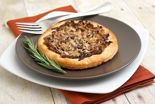 Caramelized Onion & Gruyere Tart | by Tracey's Culinary Adventures