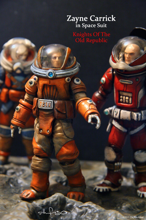 Zayne Carrick Spacesuit 46 From The Dark Horse Comic Serie Flickr