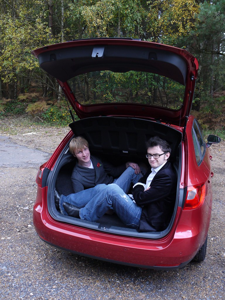 Find A Gas Station >> SEAT Ibiza ST Boot Space | How many motoring writers do ...