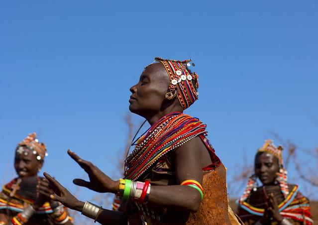 African Tribe Dance Rendille tribe dance - kenya