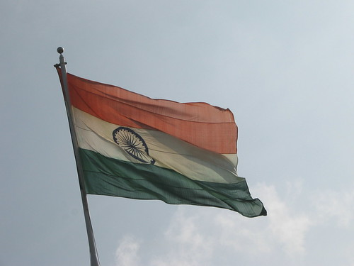 Indian Flag at Sriperumbdur | by rednivaram