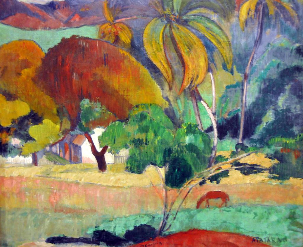 Paul Gauguin Paintings Tahiti