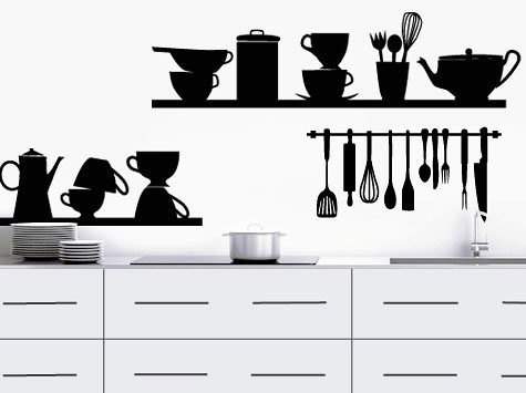 Vinilos decorativos cacharros m s vinilos decorativos en for Cacharros de cocina