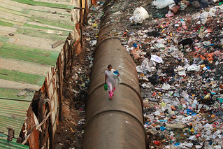 Dharavi Pipe Walk, III | by Meanest Indian