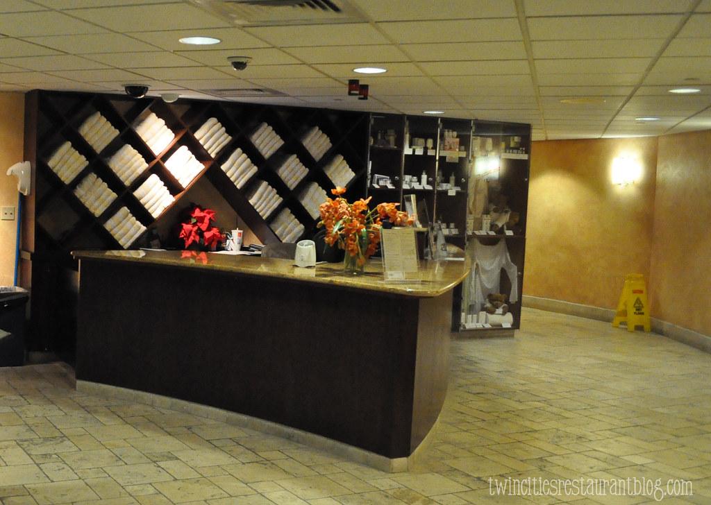Mystic lake spa reception area kristi sauer flickr for R b salon coimbatore