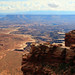 View of Canyonlands from the White Rim Overlook trail