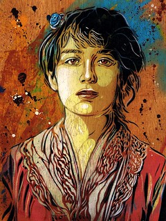 C215 - Portrait of Camille Claudel (from 1884) | by C215