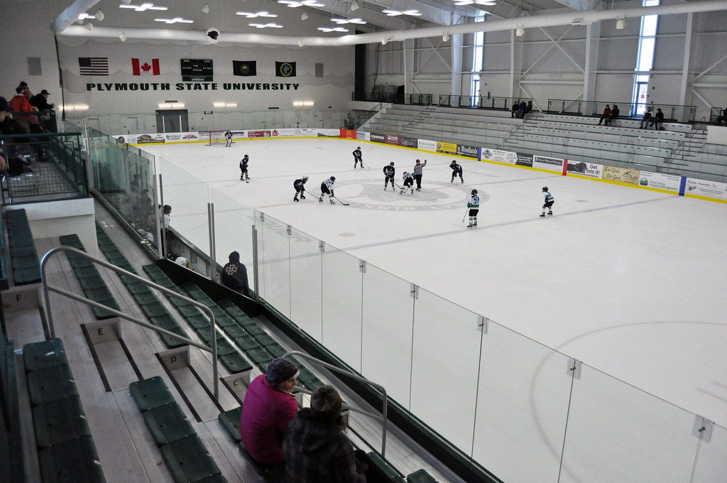 Plymouth Plymouth State University Ice Arena Map And