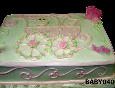 baby040 baby carriage sheet cake 40 3 brothers bakery