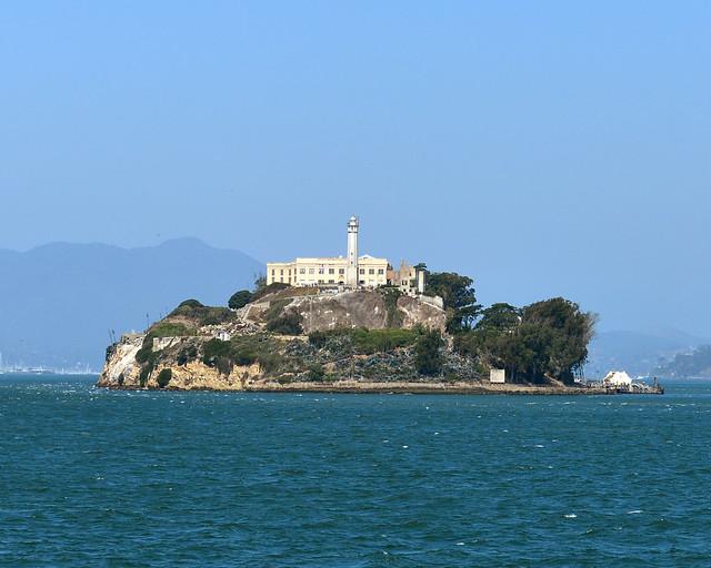 Isla de Alcatraz en San Francisco, uno de los lugares más míticos que ver en la Costa Oeste de Estados Unidos