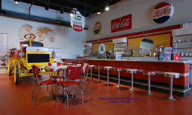 1950s Soda Fountain Lunch Counter Flickr Photo Sharing