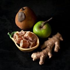 ingredients: Triple-Ginger Pear Preserves